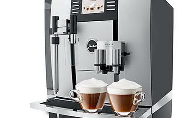 profi kaffeemaschinen von jura barista und vollautomat f r gastronomie firmen anl sse. Black Bedroom Furniture Sets. Home Design Ideas